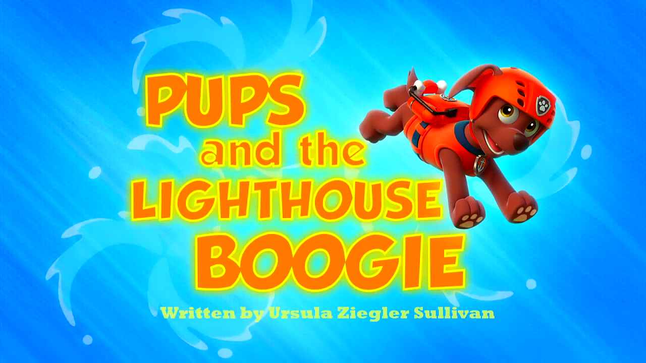 Pups And The Lighthouse Boogie Paw Patrol Wiki Fandom