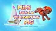 Pups Save a Windsurfing Pig (HQ)