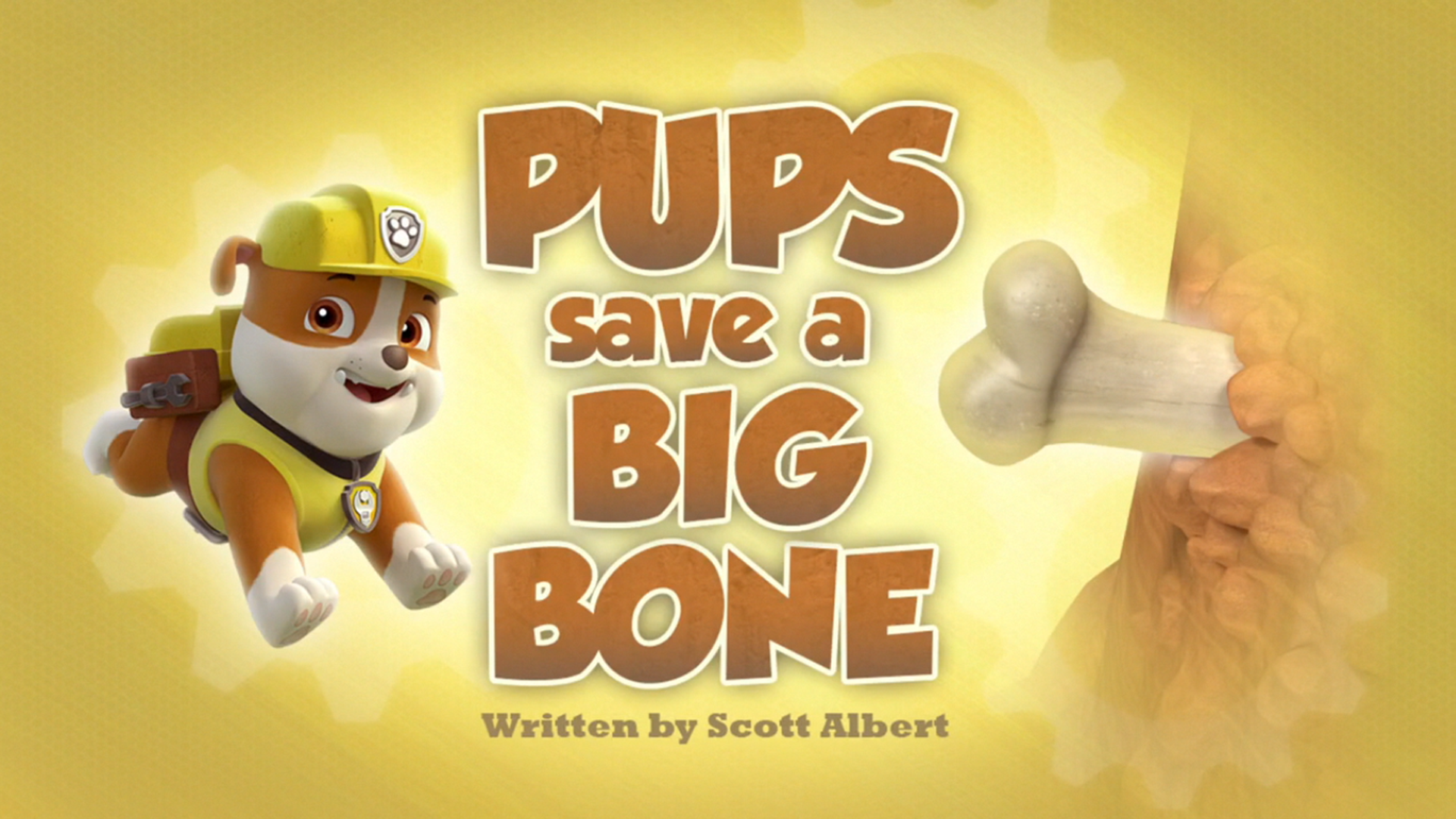 Category Pups Save A Big Bone S Pages Paw Patrol Wiki