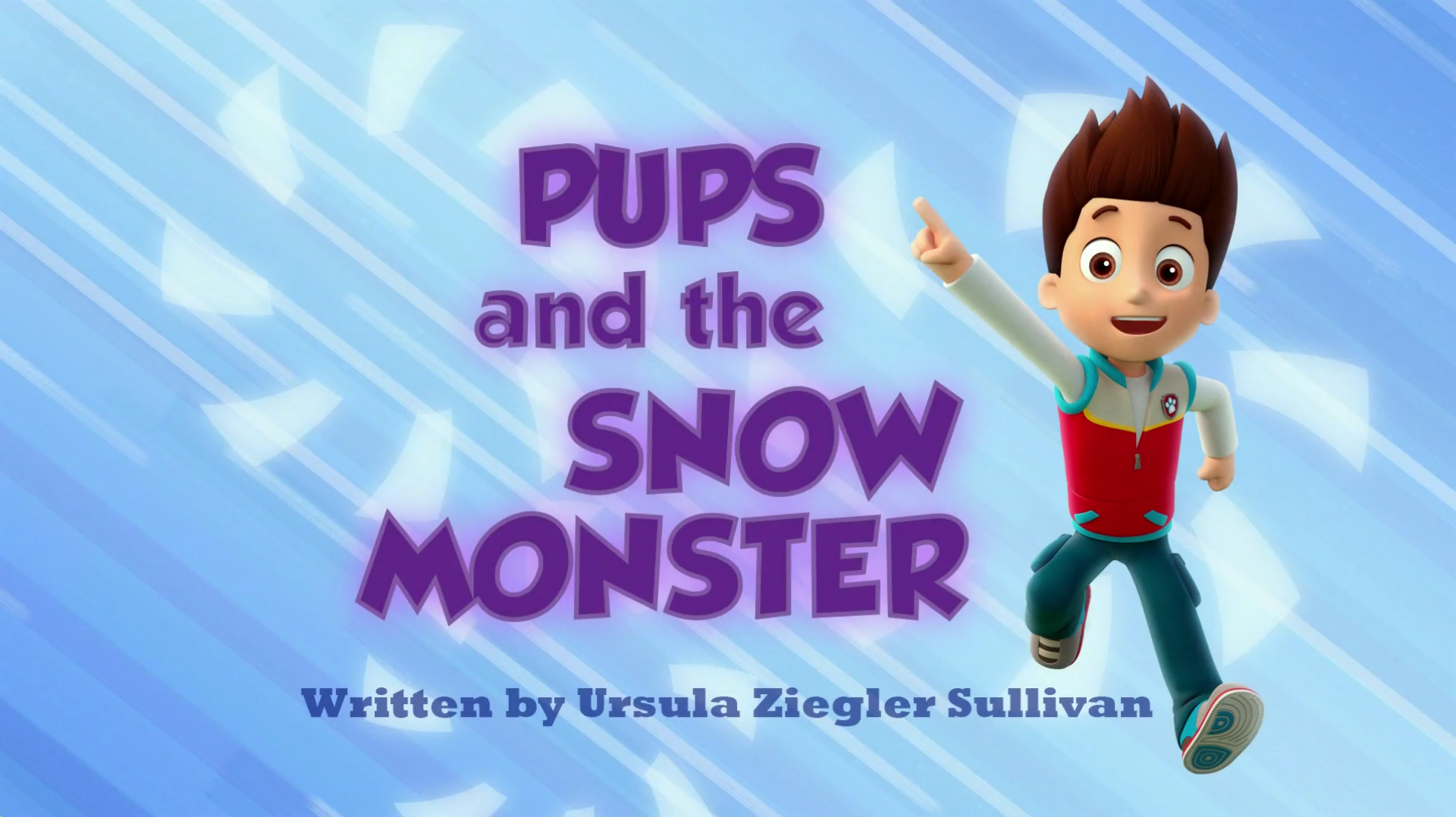 Pups And The Snow Monster Paw Patrol Wiki Fandom