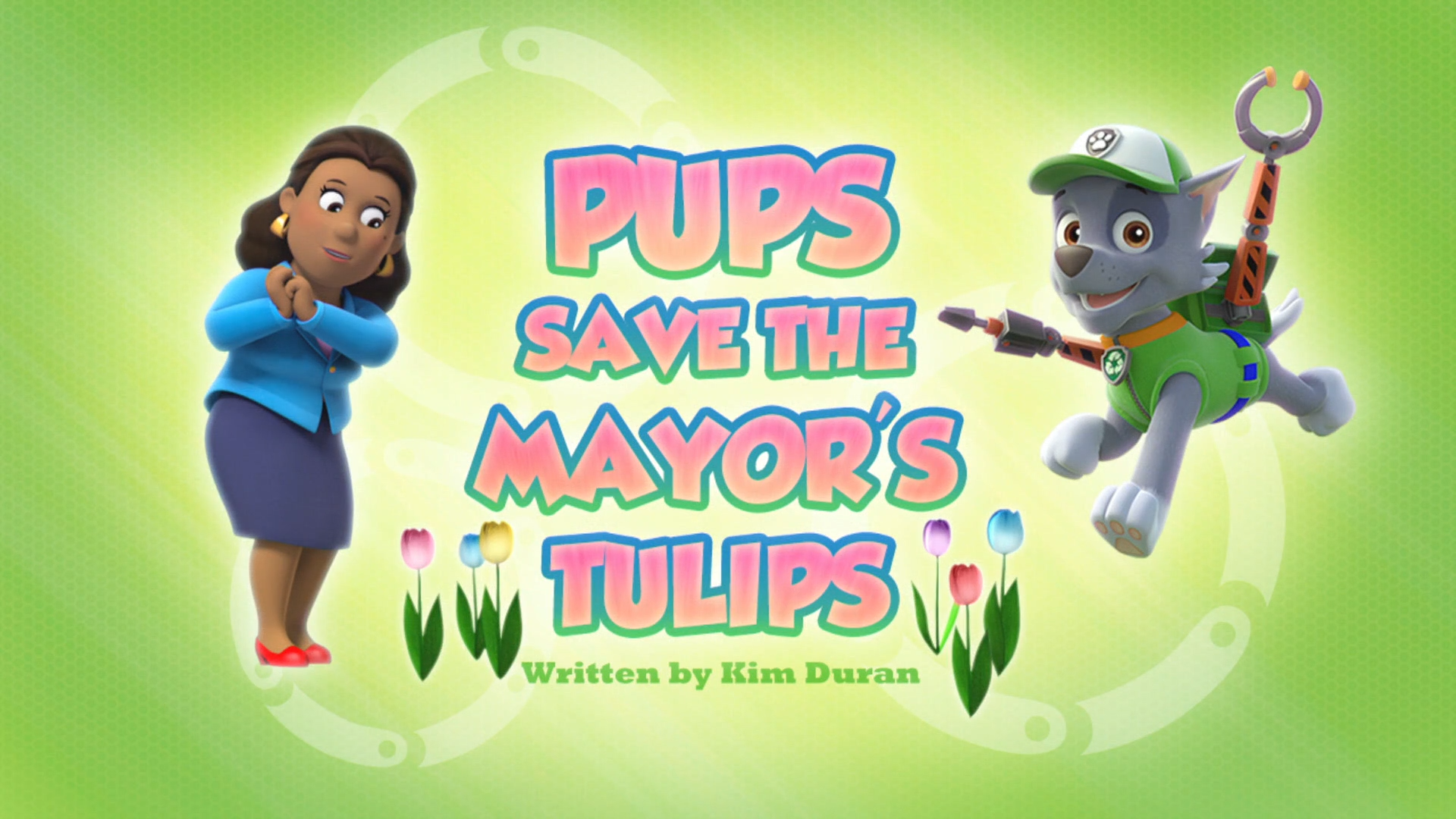 Category Pups Save The Mayor S Tulips Pages Paw Patrol