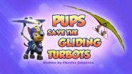 PAW Patrol Pups Save the Gliding Turbots Title Card