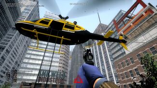 HeatStreet helicopter