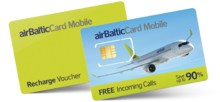 Airbalticcard international sim-card