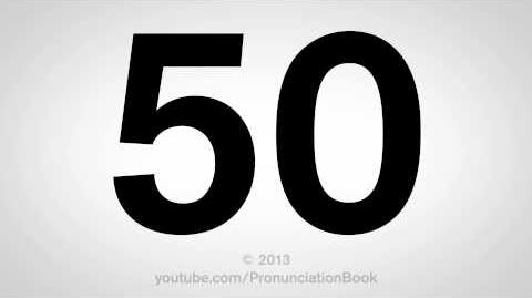 How to Pronounce 50