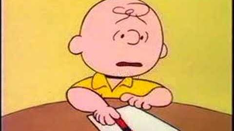 Book Report from You're a Good Man, Charlie Brown