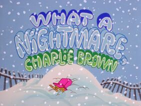 What a nightmare charlie brown-show-1-