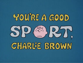 Youre a good sport charlie brown-show-1-