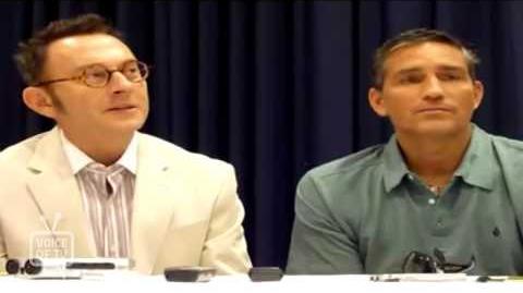Comic-Con 2012 Person of Interest' Michael Emerson and Jim Caviezel