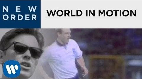New Order - World In Motion -OFFICIAL MUSIC VIDEO-