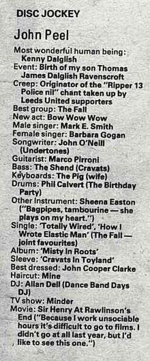 NME-PEEL-1981