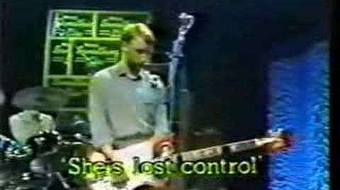 Joy Division LIVE 9-15-1979 transmission&she's lost control