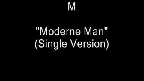M - Moderne Man (Single Version) (Robin Scott) HQ Audio