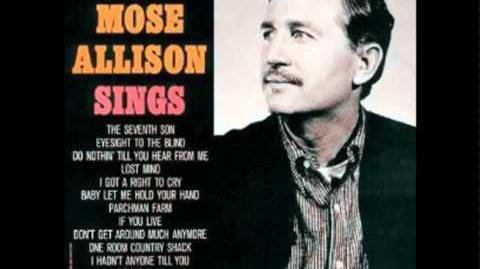 Mose Allison - I'm Not Talking