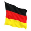 Germany fluttering flag 640
