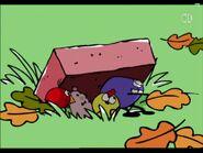 Brick home for birds