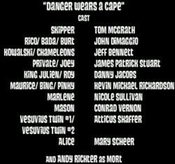 DangerWearsACape-Credits