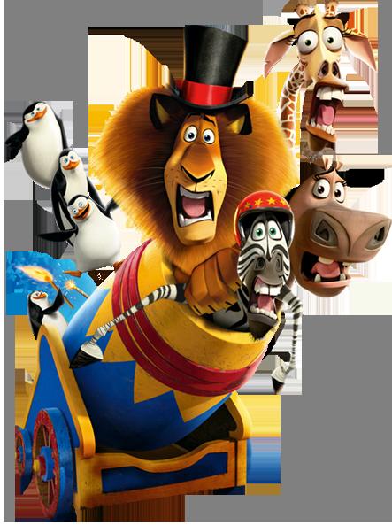 Madagascar 2 Cartoon Characters : Image madagascar character wiki