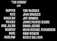 The Hidden Cast