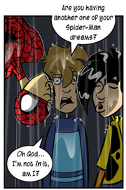 Spiderman dreams