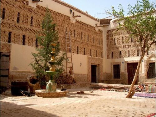 Beautiful courtyard in Dar Houidi