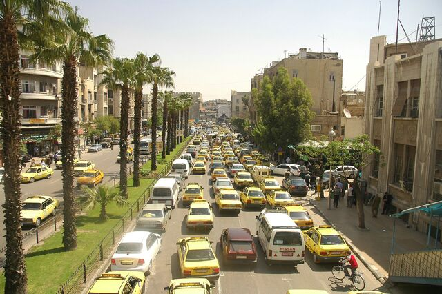 File:Traffic at Damascus streets.jpg