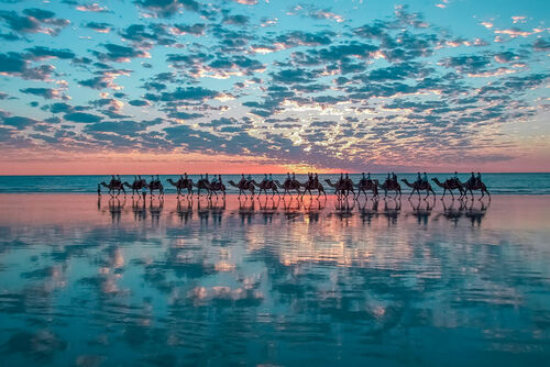 Cable Beach in Broome, Australia