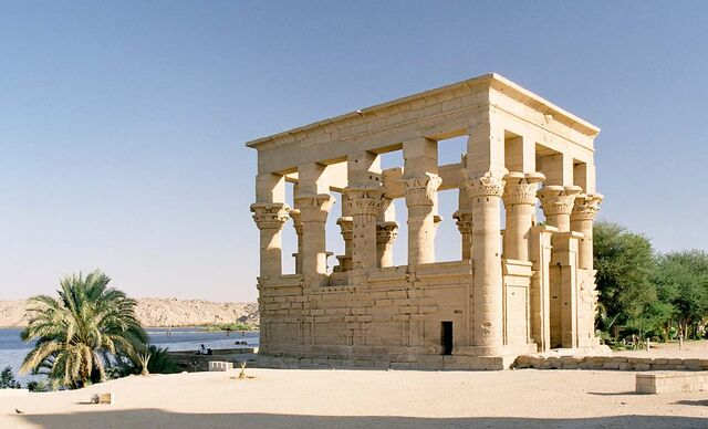 File:Philae, Trajan's Kiosk, Aswan, Egypt, Oct 2004.jpg