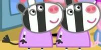 Zuzu & Zaza Zebra