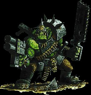 War hammer orcs