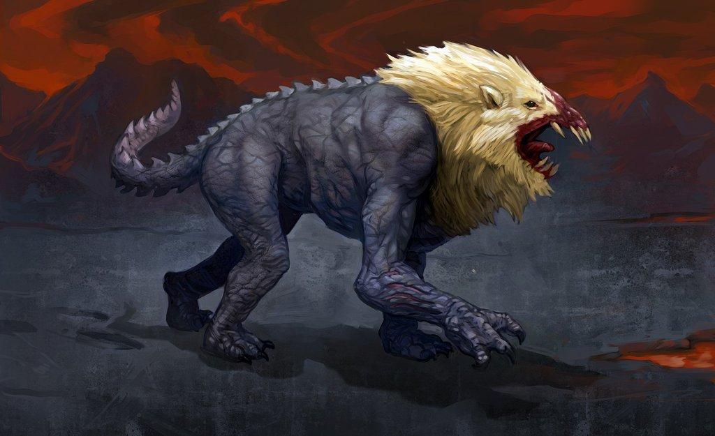 Image - Nemean lion by DaviBlight.jpg   Percy Jackson Fanfiction ...