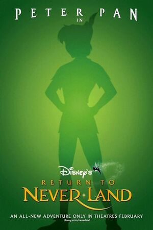 Return to Never Land Poster