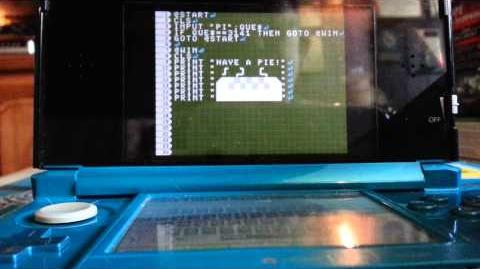 Petit Computer - 3 GOTO and IF