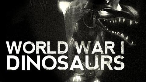 Creepy WORLD WAR 1 DINOSAURS - 1916 - DER LADEN! 1944
