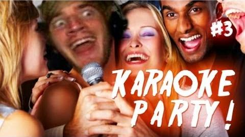 PEWDIEPIE RAPPING! - KaraokeParty 3