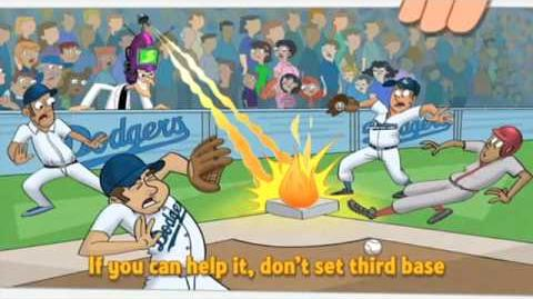 Phineas and Ferb Dodger Stadium Code of Conduct