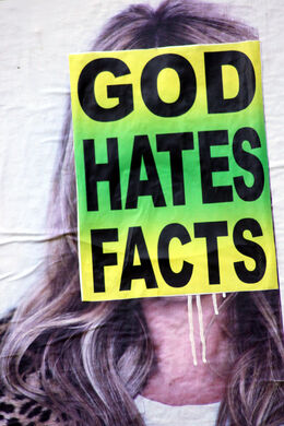 God hates facts