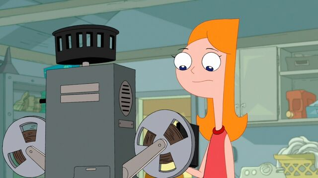 File:Candace getting ready to put the tape into the universal player.jpg