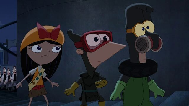 File:Isabella and Phineas and Ferb see more Doof-Zombie.JPG