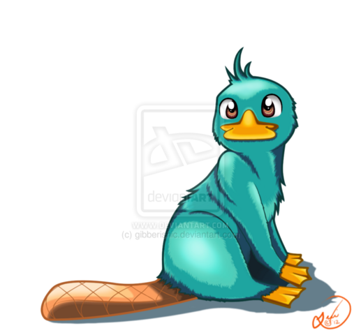 File:Perry the Platypus, by gibberishic.png