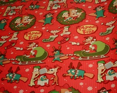 File:Phineas and Ferb Christmas wrapping paper 2013.jpg