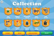 Find Perry - inator Collection Menu (completed)