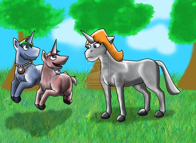 File:CtU- Candace the Unicorn, by Sesshoumaru62.jpg