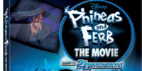 Phineas and Ferb The Movie: Across the 2nd Dimension (DVD)