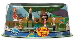 Phineas and Ferb Figure Set