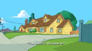 The Lizard Whisperer title card