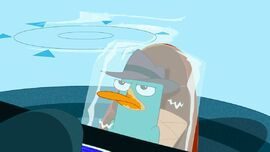 Agent P annoyed seeing Major Monogram and Carl are in Aruba.jpg