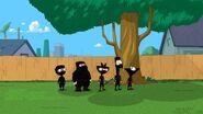 Ninja kids return to the backyard