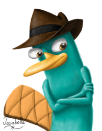 Agent P - Lineless, by Josabella