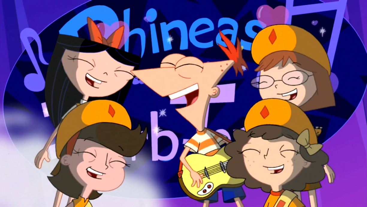 wiki list phineas ferb songs